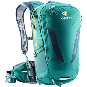 Deuter Compact EXP 12 Selkäreppu, alpinegreen-midnight